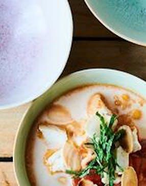Soupe de lentilles coco-curry