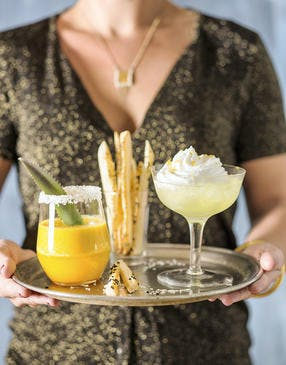 Martini citron meringué