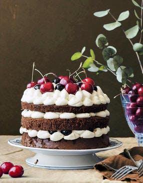 Forêt noire façon layers cake