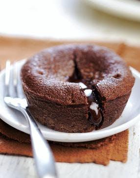 Coulant au chocolat (facile et rapide)