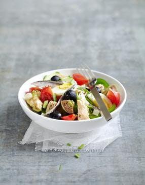"La ""vraie"" salade niçoise"