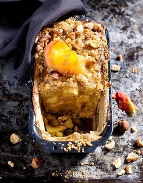 Cake moelleux-croustillant au potimarron
