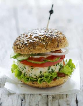 Hamburger au poulet