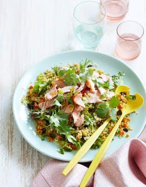 Salade végétale au quinoa