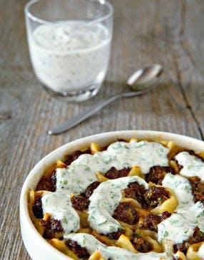Raviolis croustillants au yaourt