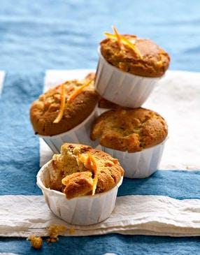 Muffins au miel d'oranger