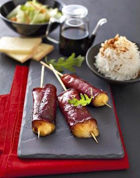 Yakitori à la raclette