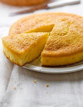 Gâteau au yaourt, citron, huile d'olive
