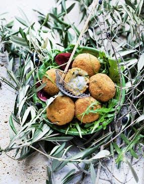 Croquettes de pommes de terre au gorgonzola de Mina