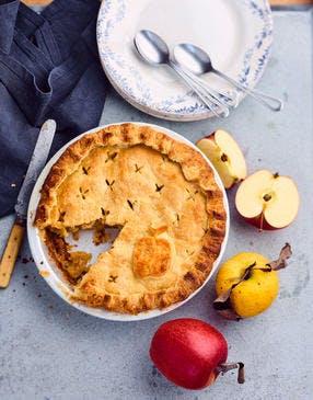 Apple pie vanille-cannelle