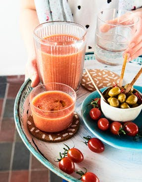 Mocktail Bloody Mary à la tomate (sans alcool)