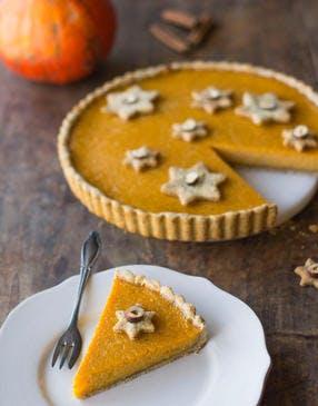 Pumpkin pie : tarte au potiron et épices