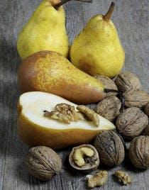Tian poires et noix