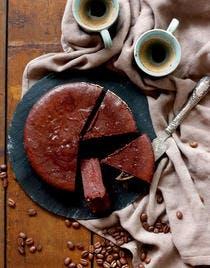 Fondant au chocolat, cardamome et café