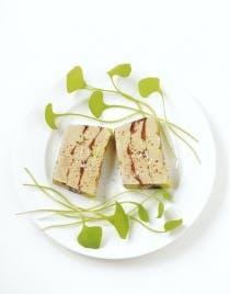 Terrine de foie gras au cacao