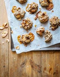 Cookies au caramel au beurre salé : recette avec des pommes
