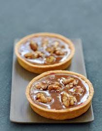 Tartelettes au caramel et aux noix