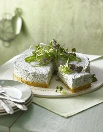 Cheesecake à la feta et aux herbes
