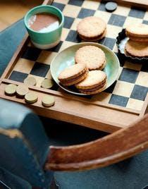 Biscuits fourrés au chocolat, façon Prince