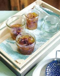 Confit d'écorces de melon et pastèque aux épices