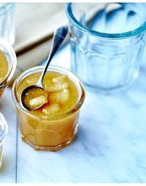 Confiture de poires au thé