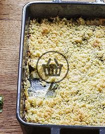 Crumble de courgettes | Simple & Bon