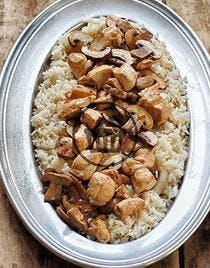 Riz pilaf poulet champignons   Simple & Bon