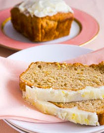 Gâteau à la banane et au caramel