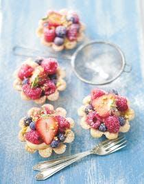minitartelettes aux fruits rouges