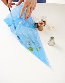 façonnage et cuisson de la meringue