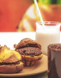 Crème de noisette au chocolat