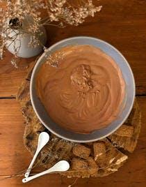 Mousse au chocolat au lait de Jacques Génin