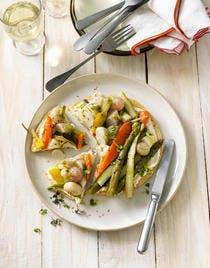 Tarte aux légumes glacés