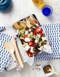 Bento de salade grecque