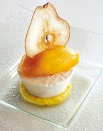 Crémeux de poire encensée à la bergamote