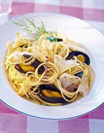 Spaghettini aux moules