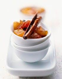 Chutney de papaye et mangue