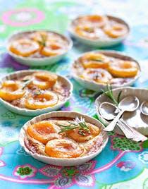 Petits gratins express à l'abricot
