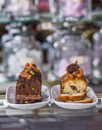 Cake au chocolat et pistaches