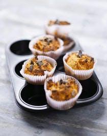 Muffin à la courge giraumon et à l'orange
