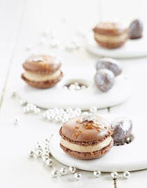 Macarons caféchoc