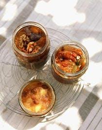 Chutney de figues et abricots