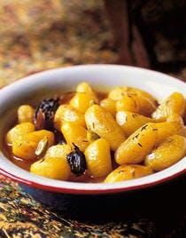 Pommes de terre au safran