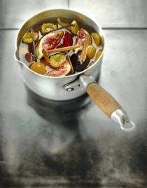 Casserole de fruits aux épices