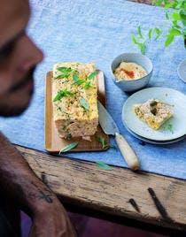 Pain aux deux saumons (terrine de poisson)