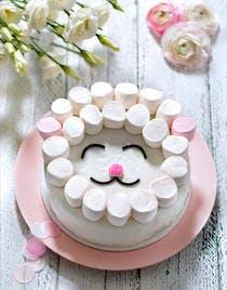 Gâteau rigolo mouton de Pâques