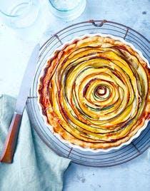 Quiche spirale aux légumes