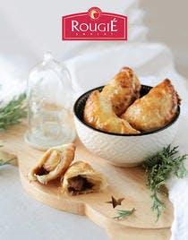 Recette de chaussons au foie gras, pomme et confit d'oignons