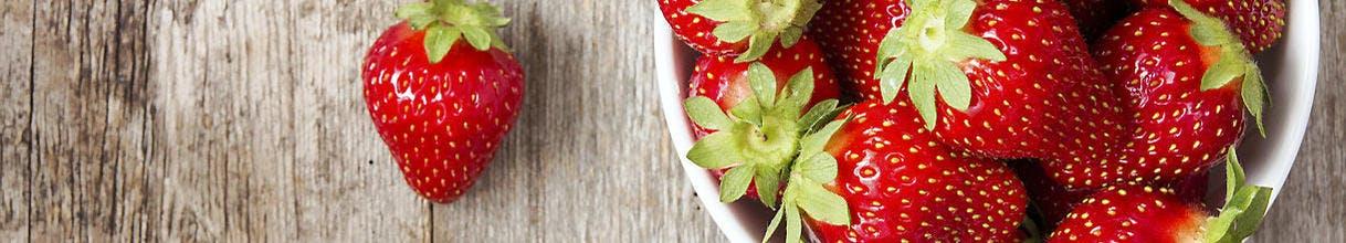 Bol de fraises