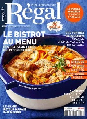 Couverture Régal magazine 103